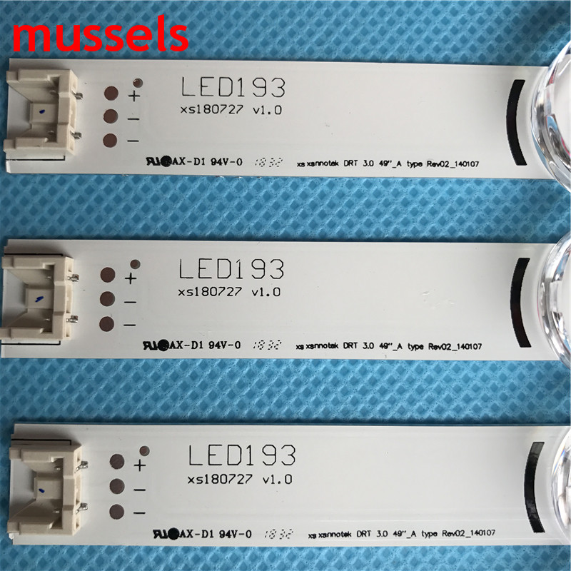 "Image 2 - LED Backlight strip For LG 49"" TV 9 lamp Innotek DRT 3.0 49""A/B 49LY320C LC490DUE FG MG A6 A5 6916L 1944A 6916L 1945A Wholesale-in Industrial Computer & Accessories from Computer & Office"