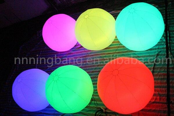 Бесплатная доставка 1.5 м рекламные надувные землю баллон/надувной шар led