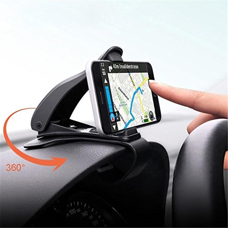 JERX Universal Adjustable Car phone Holder Dashboard Mount ...