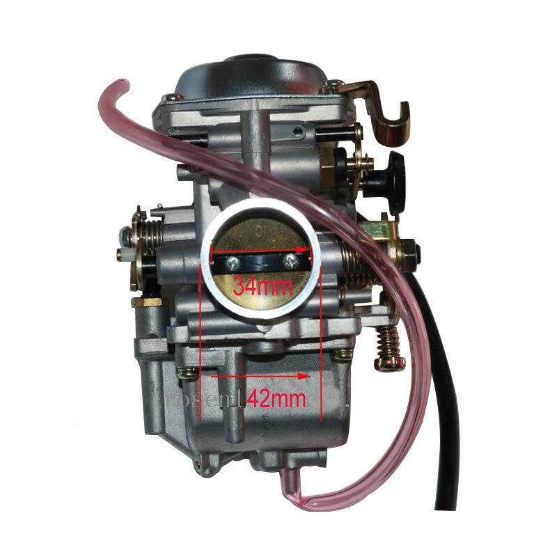 Livraison gratuite carburateur d'origine moto carburateur pour Suzuki GN250 GN 250 250QY 250E-A 250GS carburateur Carb pièces