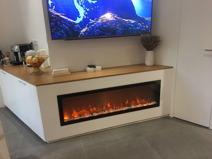 Free Shipping To Russia 1500 400 220 Mm Electric Fireplace Majestic