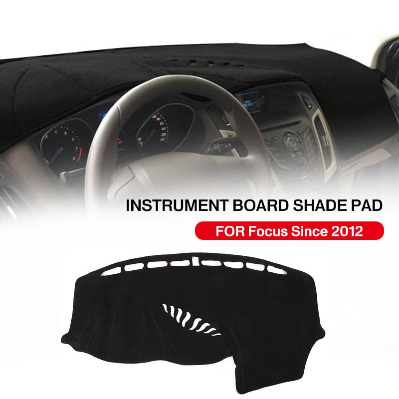 Vehemo силиконовый коврик для приборной панели из войлока, Солнцезащитная Накладка для машины, запчасти для грузовиков, черный коврик для приборной панели