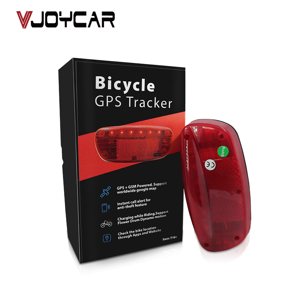 Waterproof GPS Tracker Bikes SMS Locating Audio Surveillance GPS Tracker 120 Days Real Time Tracking Bicycle