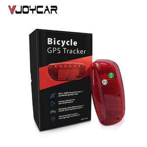 Waterproof GPS Tracker Bikes SMS Locating Audio Surveillance GPS Tracker 120 Days Real Time Tracking Bicycle Lamp Rastreador