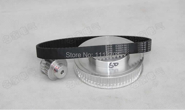 CNC Router machine parts - timing belt pulleys, timing belts, timing belt kits deceleration 3M (6:1)CNC Router machine parts - timing belt pulleys, timing belts, timing belt kits deceleration 3M (6:1)