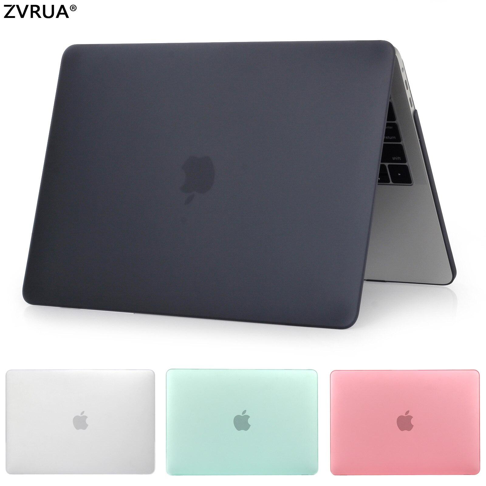 ZVRUA Vendita Calda laptop Case Per Apple macbook Air Pro Retina 11 12 13 15 Per Mac book 13.3 pollice con Touch Bar