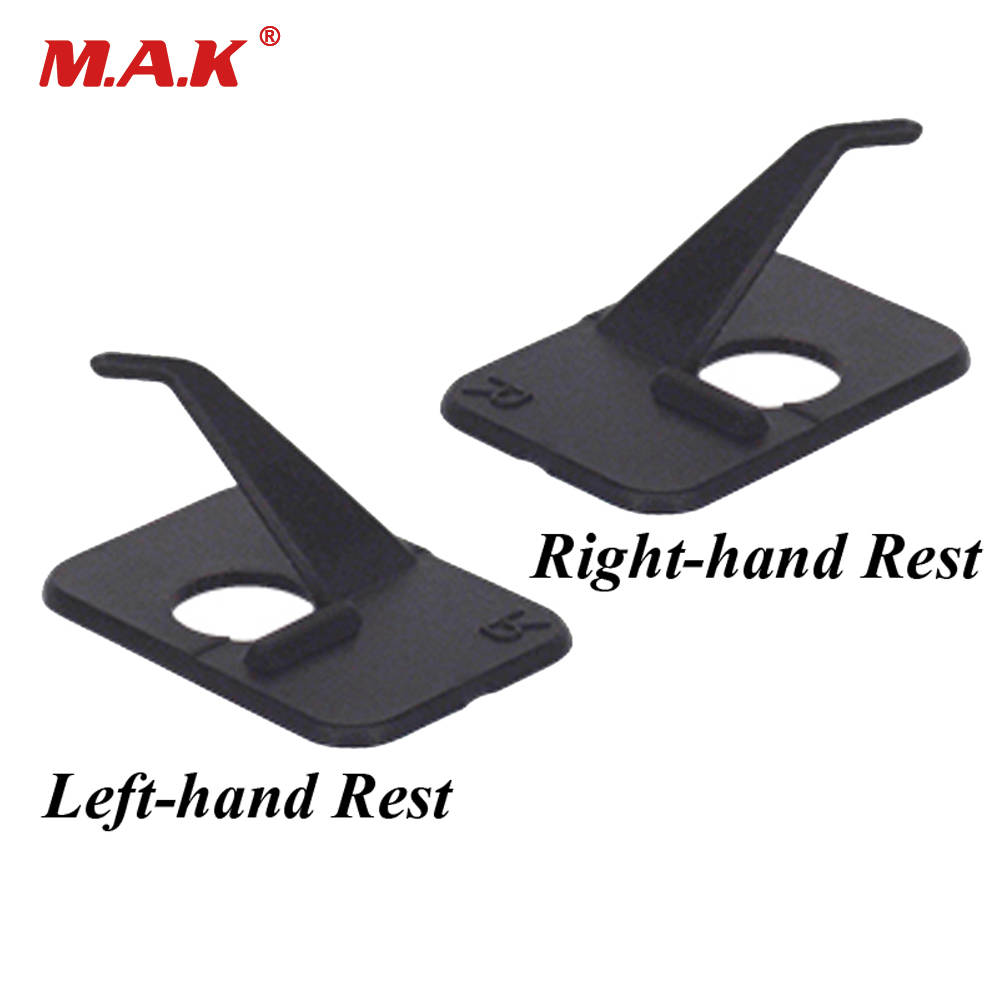 Archery Plastic Arrow Rest For Right Left Handed In Black For Professional Recurve Bow Hunting Shooting
