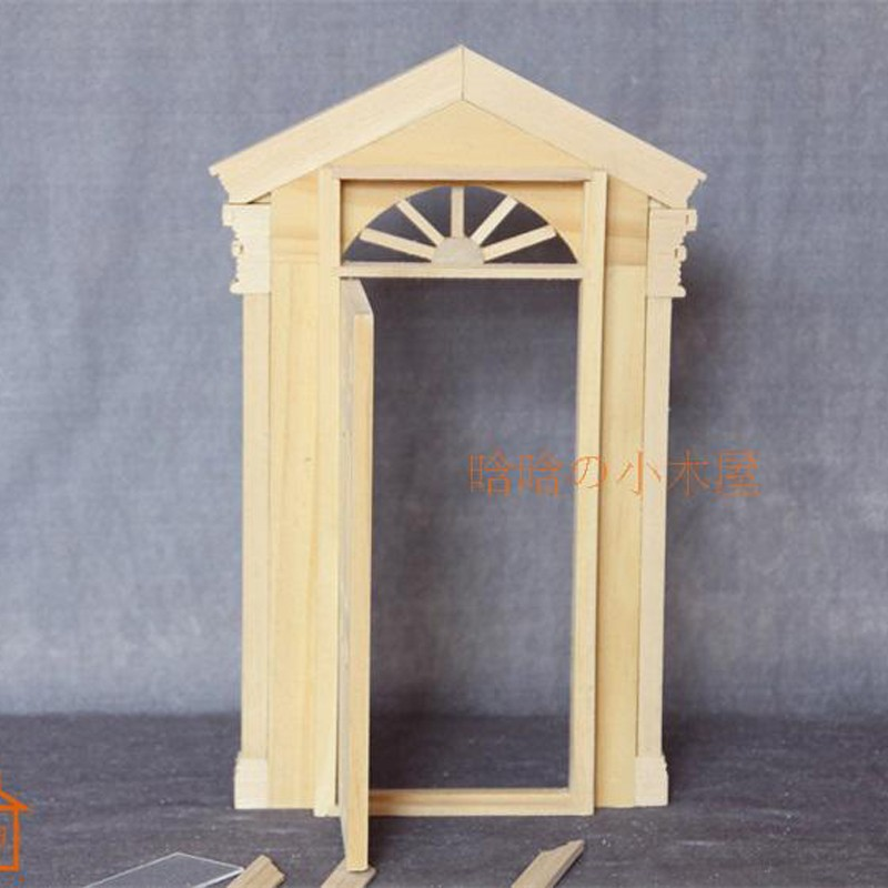 6pane door doll house 6