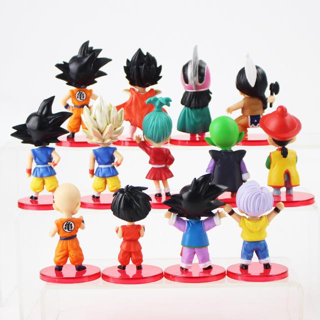 Set of 13 Dragon Ball Z Action Figures