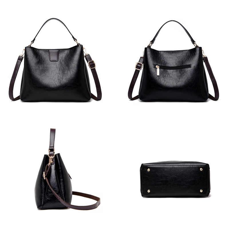 Вон ведро сумка женская натуральная кожа сумка для женщин сумки большая сумка женская плечо сумка через плечо черный большой тотализатор серый