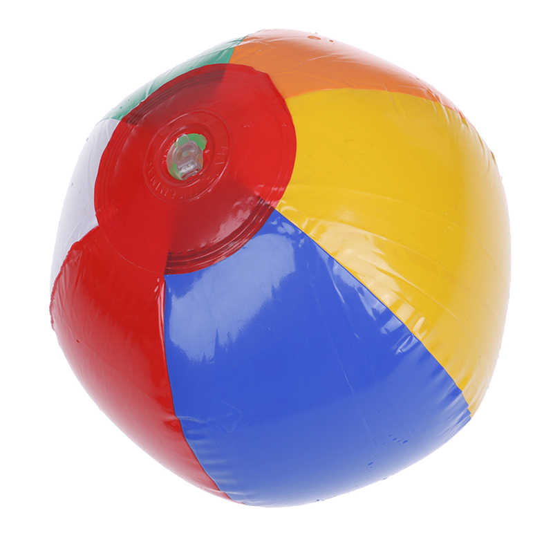 1PC 15CM קשת-צבע מתנפח חוף כדור ילד של מים יום הולדת לשנה חדשה חג המולד ליל כל הקדושים מתנת צעצוע