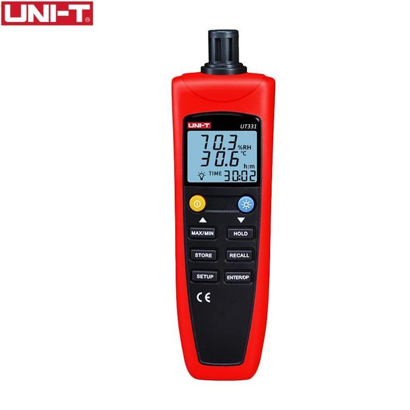 UNI T UT331 Digital Thermo Hygrometer Temperature Humidity Unit Selection USB Interface