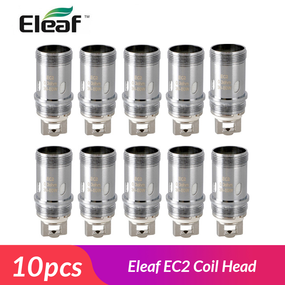 10pcs/lot Original Eleaf <font><b>EC2</b></font> Coil Head 0.3ohm/<font><b>0.5ohm</b></font> Head Replacement Coil for Eleaf Melo 4/iKuun Kit E Cigarette Coil image