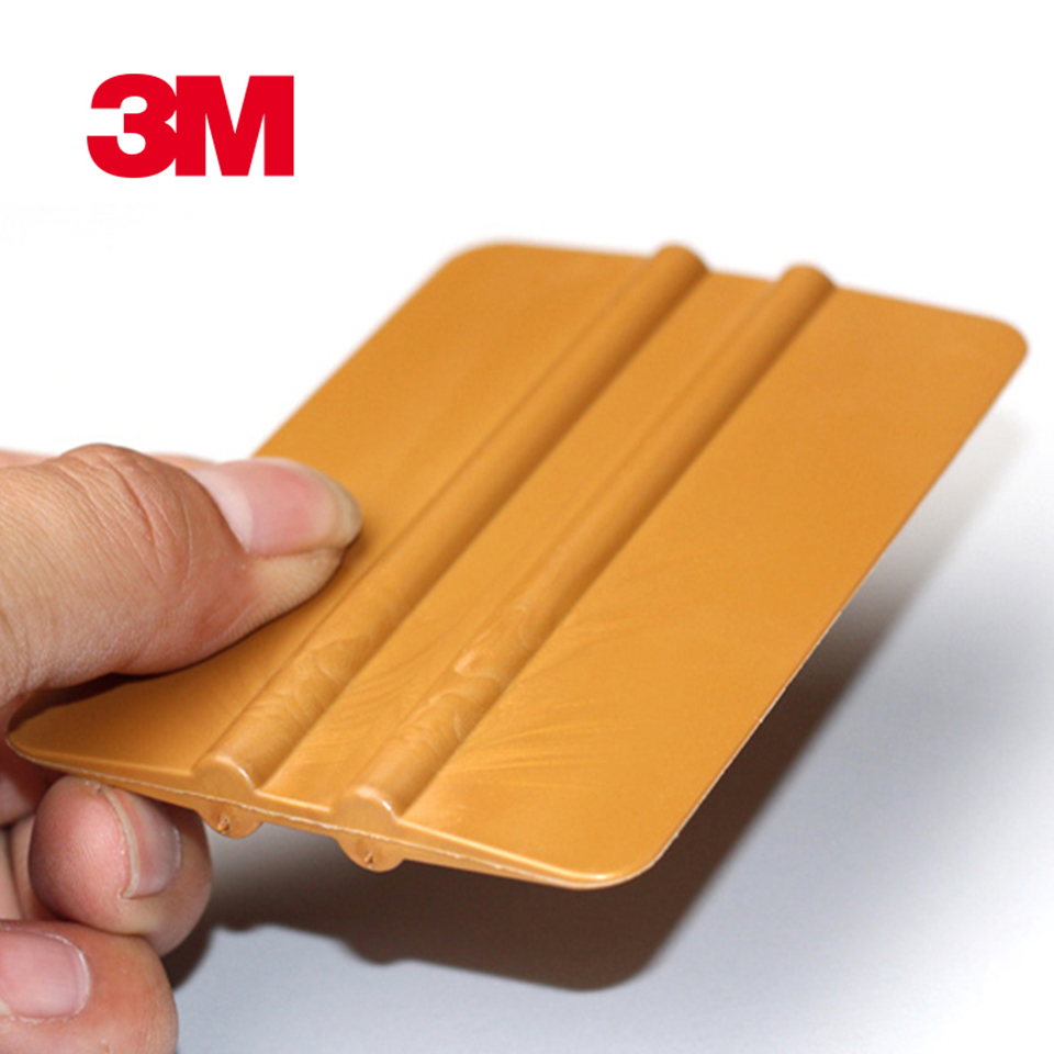 Image 5 - Gold Vinyl Wrap Squeegee Applicator Tool Scraper Decal  P.A 1Y-in Car Stickers from Automobiles & Motorcycles