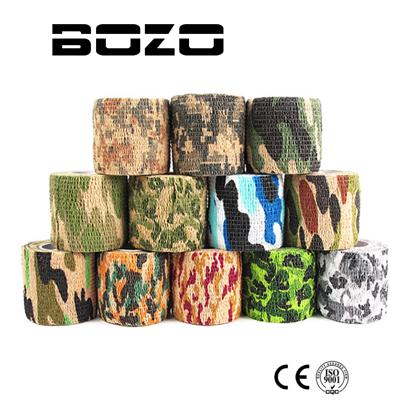Airsoft paintball Self-adhesive Camouflage Wrap Rifle Hunting Shooting Cycling Tape Wate ...