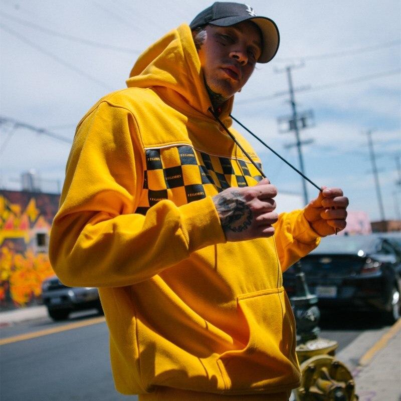Plus Pourpre Vegorrs Hip Pour Garder Fluff Nouveau Hommes Capuche Bf Mâle 2018 jaune Sac Chaud À Vent blanc Au Lâche Kelly Homme Hop Personnalité Sweat BAwrBPaq