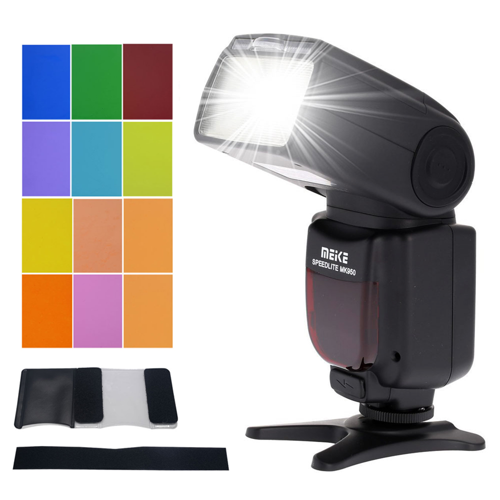 Meike MK-950C E-TTL Flash Speedlite for Canon EOS  5D Mark II 7D 60D 70D 600D 700D 650D 580EX 430EX II  VS yn-565ex