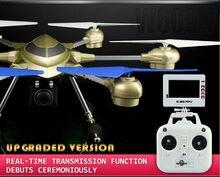 Profesional RC Drone HJ816 dapat Dengan HD Kamera 5.8 GHz FPV 2.4G 4.5CH 6 Axis 3D Pesawat hingga 500 m vs X8HG RC Quadrocopter