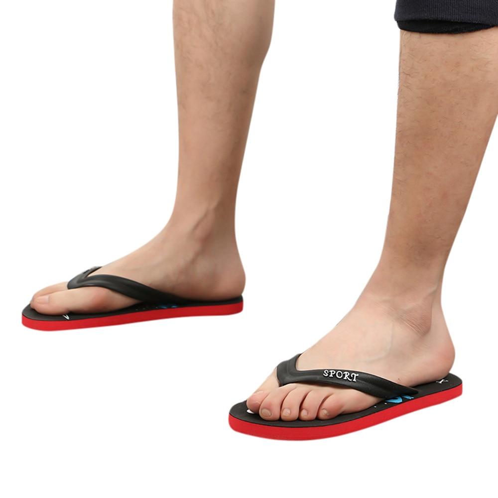 Flip-flops Youyedian Mann Sommer Slipper Mann Flip Flop Mode Anti Schleudern Prise Sandalen Flip-flops Strand Shoesclaquettes Chaussure # G3 Angenehm Bis Zum Gaumen
