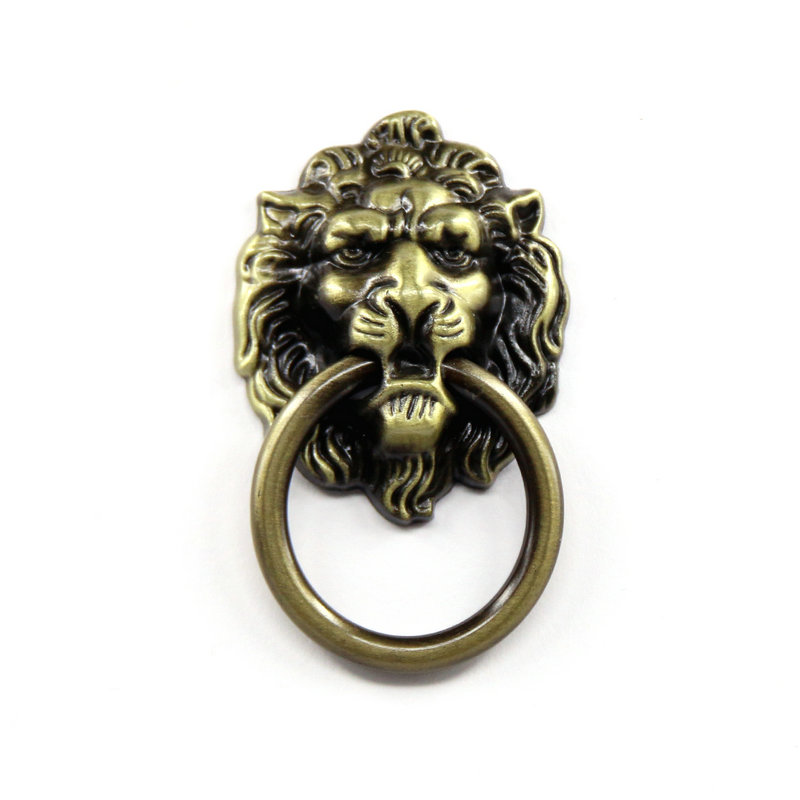 Vintage Bronze Color Lions Head Kitchen Door Handle Pull Knob for Cabinet Wardrobe Drawer handle Cupboard Door Knobs bvp luxury brand weave plain top grain cowhide leather designer daily men long wallets purse money organizer j50
