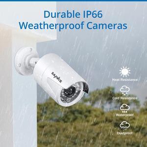 Image 5 - Sannce Full Hd 8CH 1080P Poe Nvr Kit 4 Stuks Bullet 2.0MP Poe Ip Camera P2P Cloud Service Systeem video Cctv Surveillance Systeem