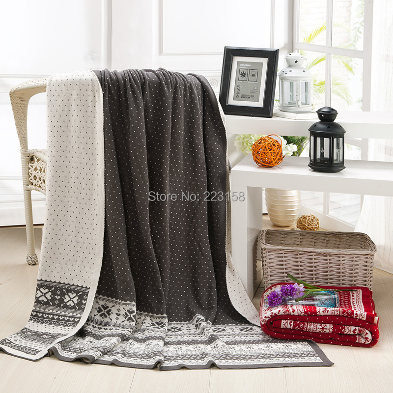 130*170cm Furniture summer cotton 2014 100% christmas jacquard knitted blanket flower yarn blanket air conditioning blanket 2017 brown leopard thread blanket gray knitted air conditioning sofa blanket 100% cotton 200 230cm soft bed sheet home textile
