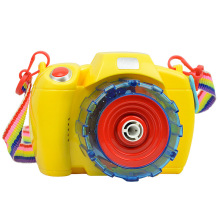 Summer childrens bubble camera machine automatic light music electric children blowing toy