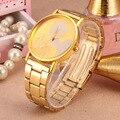 Moda Rato Delicado oco cinta mostrador do relógio de pulso de quartzo mulheres rhinestone vestido relógios mickey assistir crianças assistir
