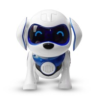 New Blue electronic pet toy dogs with music sing dance walking Intelligent mechanical Infrared sensing Smart robot dog toy gift