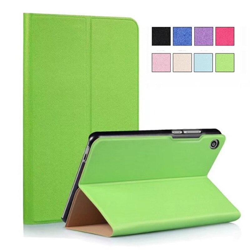 Ultra Thin PU Leather Cover Case for Huawei Mediapad T3 8 0 KOB L09 KOB W09