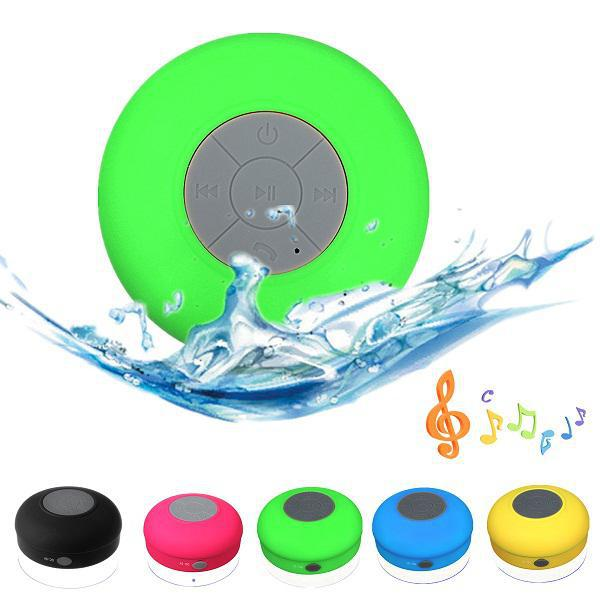 Portable Subwoofer Shower Waterproof Wireless Bluetooth Speaker Car Handsfree Receive Call Music Suction Phone Mic subwoofer