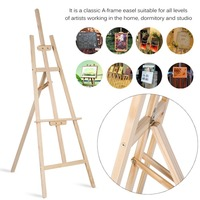 Portable Studio Wooden Easel Wedding Table Card Stand Display Holder Art Craft Artist Tilt Pine Wood Drawing Board 1.8M