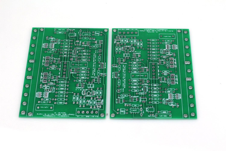 ZEROZONE Kevin Gilmore KGSSHV CARBON électrostatique casque amplificateur nu PCB L8 39-in Casque Amplificateur from Electronique    1