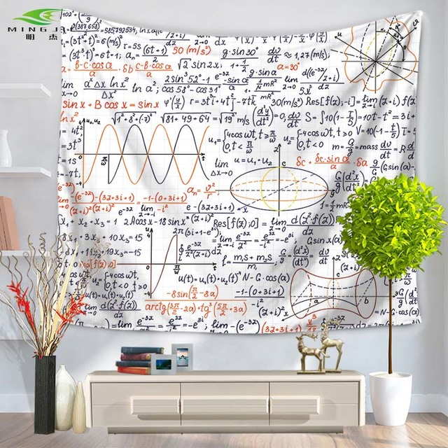 NEW Fashion Home Decoration Chemical Mathematical Formula Wall Art Tapestry Beach Towel Bedroom Cover Up Carpet  sc 1 st  AliExpress.com & NEW Fashion Home Decoration Chemical Mathematical Formula Wall Art ...
