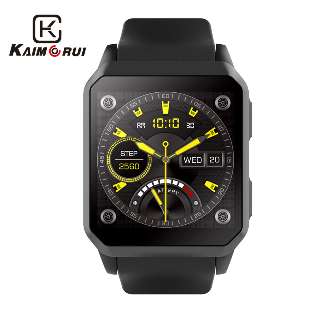 Kaimorui Smart Watch IP68 Waterproof Android 5.1 Bluetooth Smartwatch MTK6580 SIM Card GPS WiFi Watch Phone For Android IOS kaimorui android smart watch bluetooth men watch 512mb 8gb smartwatch sim card gps wifi for android ios watch phone