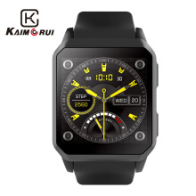 цена на Kaimorui Smart Watch Men Heart Rate Android 5.1 Bluetooth Smartwatch MTK6580 SIM Card GPS WiFi Watch Phone For Android IOS