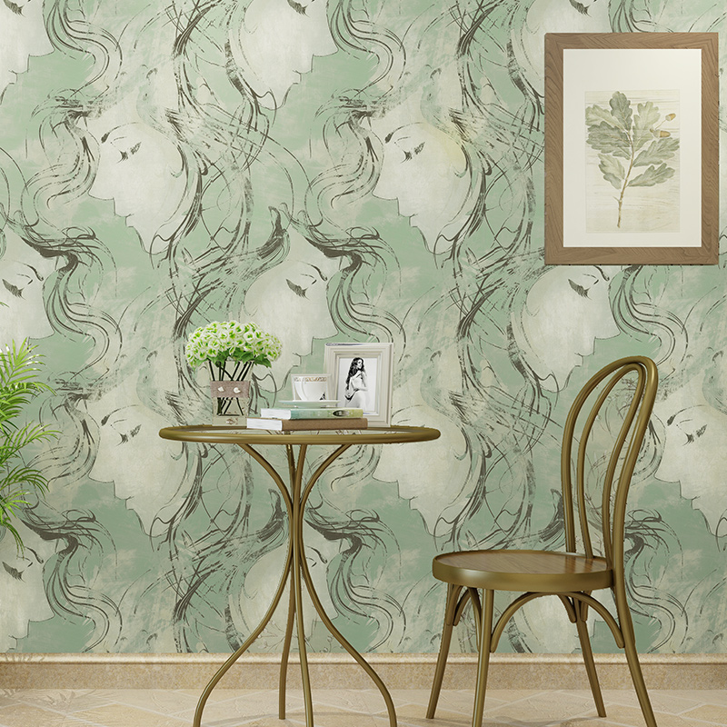 Modern Hudas Beauty Sketch Wall Papers Home Decor Living Room PVC Paper Roll for Theme Walls Papel Mural  vinilo pared