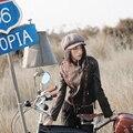 Aporia. Как осень зима тенденция повязки рукав национальная тенденция вышитые личность мотоцикл кожаной свободного покроя короткая куртка пальто