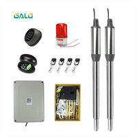 Services with two pairs of safety swings Gate door's Electric Motorcycle motor/remote control automatic gate opener kits