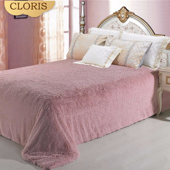 CLORIS Super Soft Thicken Blanket To On For The Sofa Bed A Plush Bedspread Mantas Casal The Blanket Winter Warm Travel Bedspread