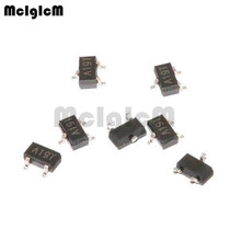 MCIGICM AO3401A,100 pièces SMD p channel 30V 4A (Ta) 1.4W (Ta) transistor mosfet SOT 23 AO3401