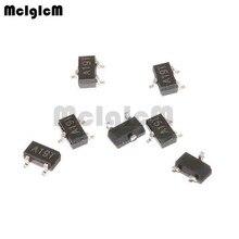 Mcigicm AO3401A,100Pcs Smd P Channel 30V 4A (Ta) 1.4W (Ta) mosfet Transistor Sot 23 AO3401