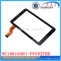 """Nuevo 7 """"pulgadas FPC837DR HC186104H1 HC186104H1-FPC837DR Tablet Panel de Pantalla Táctil digitalizador Del Sensor de Cristal de Reemplazo Envío Gratis"""