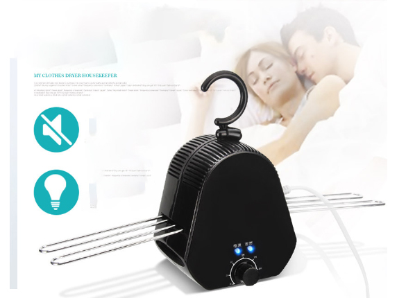 Electric Clothes Dryer  90min Fast Drying 5h Timing  Mini Clothes Drying Machine Max Load 15KG Self Laundry