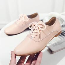 2019 Spring Women Shoes Flats Genuine Leather Ladies Shoes Moccasins Lace Up Loafers недорого