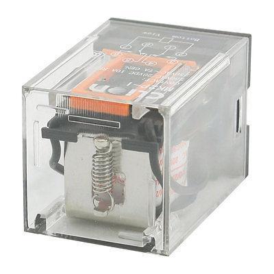Подробнее о AC 220V/230V Coil Voltage PCB Power Relay 8 Pins DIN Rail DPDT 2NO 2NC MK2P-1 free shipping ac 220v coil electromagnetic relay 8 pins dpdt 2 no 2 nc jqx 10f 2z