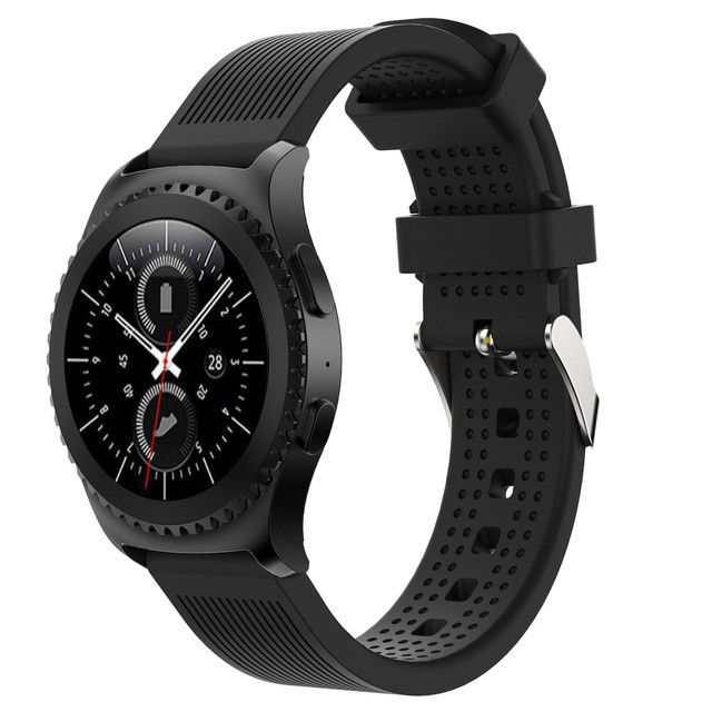 New Arrivals Fashion Sports Silicone Bracelet Strap Band For Samsung Gear S2 Cla