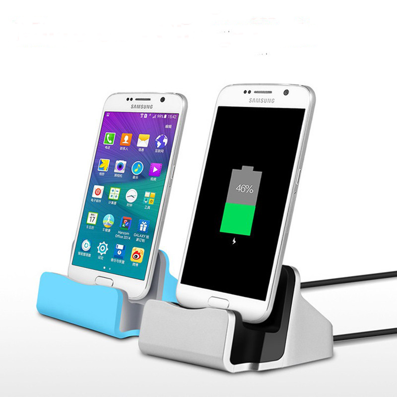 Micro usb Charger Dock Desktop Charging Adapter for Samsung Galaxy S7 S6 Edge for Huawei P8 P9Lite SmartPhones Charger Dock