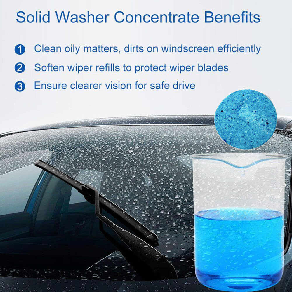 CARPRIE уход за автомобилем Чистка 4 шт. жидкость для стеклоомывателя экран тряпка для чистки очиститель жидкости мойка концентрат уход за автомобилем продукты