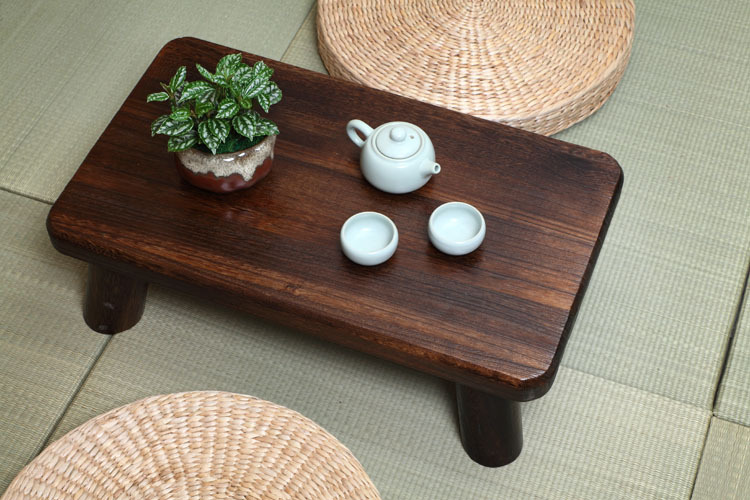 Aliexpress.com : Buy Small Japanese Wood Table Traditional Rectangle  60*35cm Paulownia Asian Antique Furniture Living Room Low Floor Table For  Dining From ...